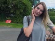 British bigtit amateur fucked in park