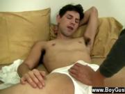 Hot gay scene He is so into it that he pulls his gam up