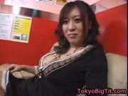 Nana Aoyama Sucking Cock in Coffee Shop 1 by TokyoBigTi