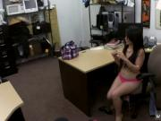 Playful brunette in cab Fucking a Cuban girl for her TV