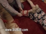 elegant whore violently ana fucked and banged BDSM sub