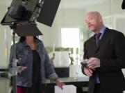 FTM Buck Angel destroys Tgirl Tori Mayes tight ass usin