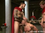 Alex Adams and Connor Patricks in bdsm orgy