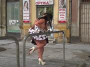 Hungarain babe disgraced and banged