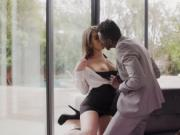 Watch how Jason Brown anal fuck her boss so rough
