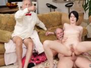 Daddy and young girl old mature fuck Frannkie goes down