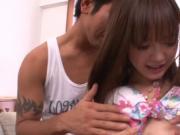 Japanese sluts plays with self
