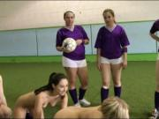 Football newbies enjoyed fondling each others sweet pus