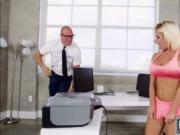 Horny slut Sara St Clair fucking some huge dick