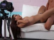 Teen bitches bounce on cock