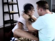 Chad bangs lesbian stepsis Uma Jolie
