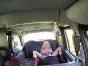 Finnish amateur babe anal fucks in fake taxi
