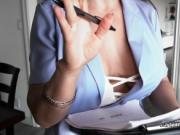 Latina real estate agent fucks big dick pov