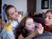 Lick dp party Cosplay Queens