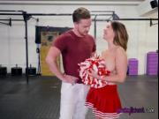 Busty Cheerleader Brooke Beretta Seduces Her Teacher