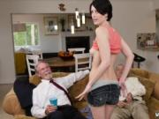Old man young girl amateur and nick xxx Frannkie heads