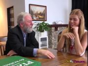 Teen Hottie Chrissy Fox Lets Dads Boss Taste Her