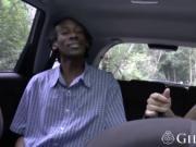 Busty granny pleasuring black guy