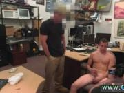 Straight on his knees gay Guy ends up with anal invasio