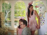 Avi Love screwed by pervert easter bunny