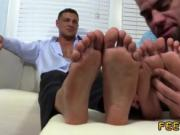 Mens feet while fucking and gay boys with their legs wi
