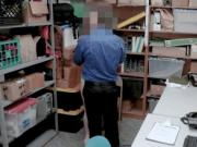 Thief caught stealing clothes and gets slammed by LP of