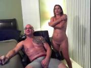 Married mature couple hot BJ