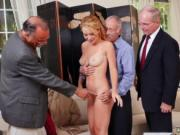 Blonde girl tied and fucked Frannkie And The Gang Tag T