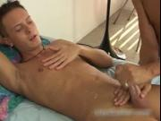 Holden getting his hard gay cock wanked 3 by BFgusher