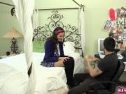 Maya Grand anal fuck so hard by bible teacher