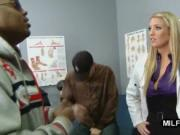 Blonde Doctor Black Dicked Hard