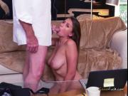 Desperate Teen Ivy Rose Blows Old Men For Cash