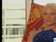 Blonde 90s pornstar on playboy tv
