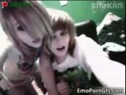 Nasty emo lesbians having fun on webcam by EmoPornGfs