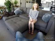 Blonde Chick Alina West Blows Hung Suitor