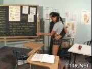 Schoolgirl gets it balls deep