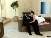 Lily Labeau Blows And Rides Monster Black Dong