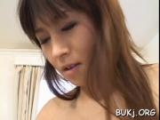 Obedient babe jizzed on face