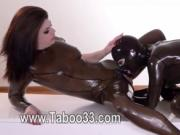 Houseoftaboo with attractive latex clothing
