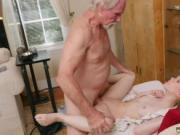 Teen fucks her old teacher and man watch his wife fucke