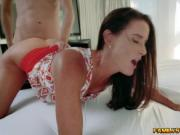 Sofie receives a steamy load from Dylan