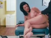 Veronica Avluv rides on top of Danny Ds cock