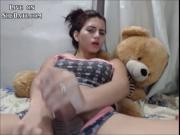 Teenage Shemale Masturbating