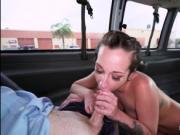 Fat booty Jada Stevens fucked in the car by stranger