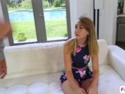 A very sexy teen Iggy Amore must sucks horny stepdad's
