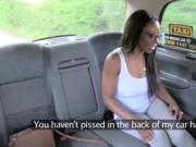 Lola Marie Squirts and Piss in Taxi