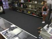 Blonde fucked the floor Puppy Love