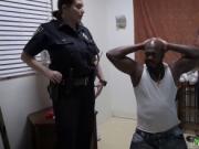 Big black cock virgin Milf Cops