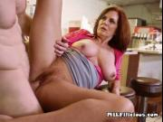 Mature Harlot Andy James Gets Impaled And Creamed