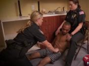 Bootylicious big boobs naked horny cops doggy by black